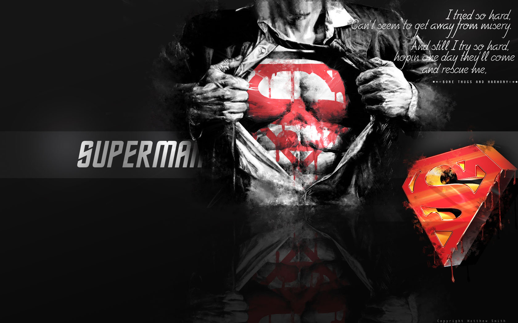 Superman Wallpaper by Unique2892 1680x1050