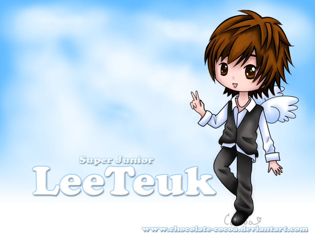 Angel Leeteuk Wallpaper by Chocolate Cocoa 1026x768