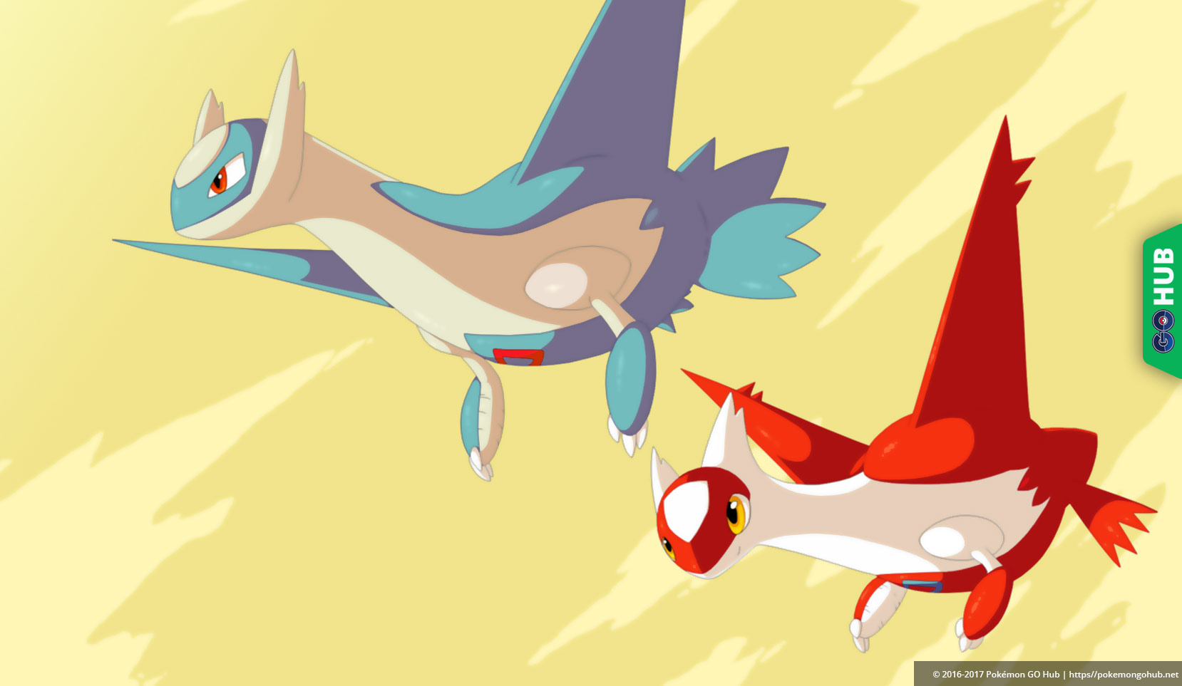 Shiny Latios and Latias models found in Pokemon GOs network 1658x963