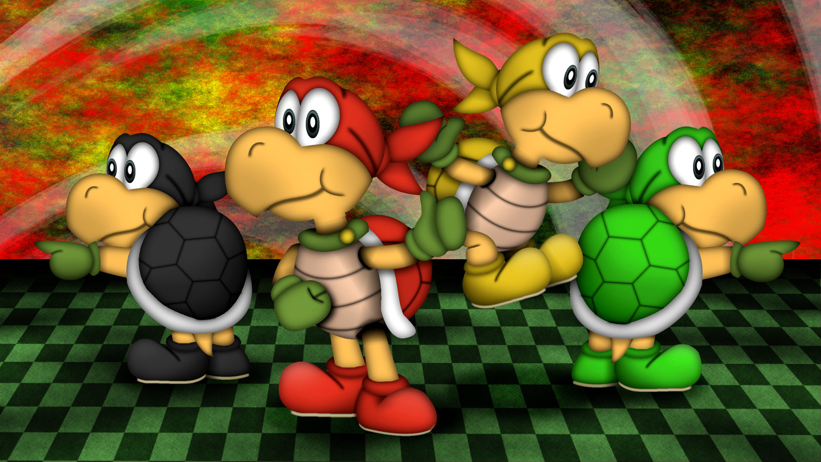 The Koopa Brothers by GEO-GIMP on DeviantArt