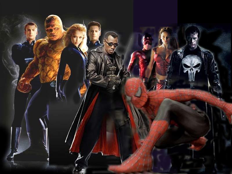 Marvel Comics Super Hero Wallpaper 800x600