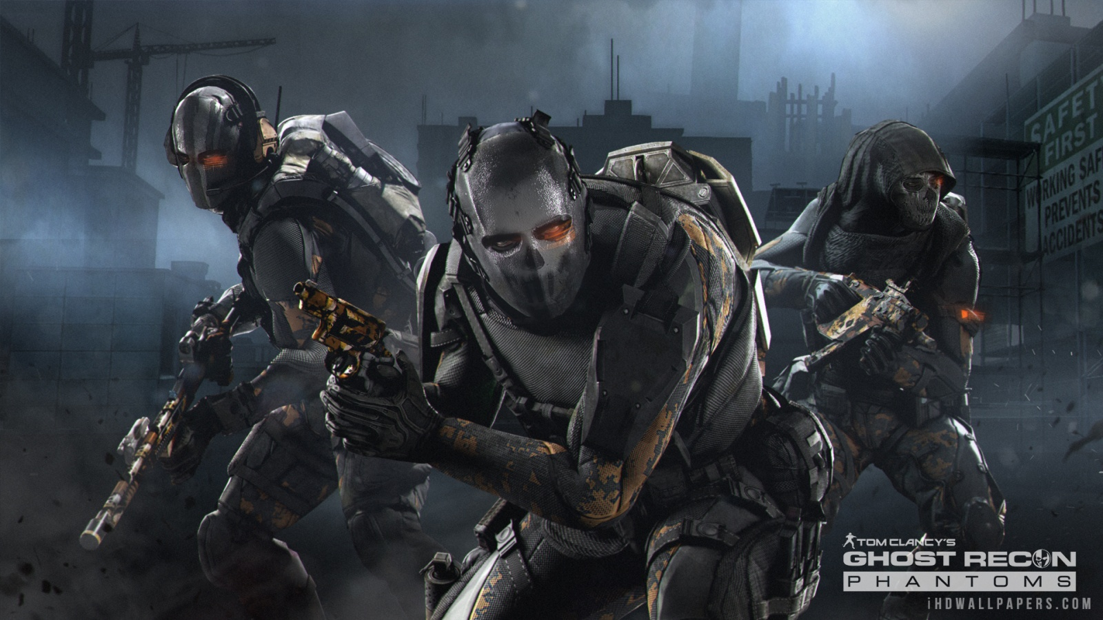 Ghost Recon Phantoms Game HD Wallpaper   iHD Wallpapers 1600x900