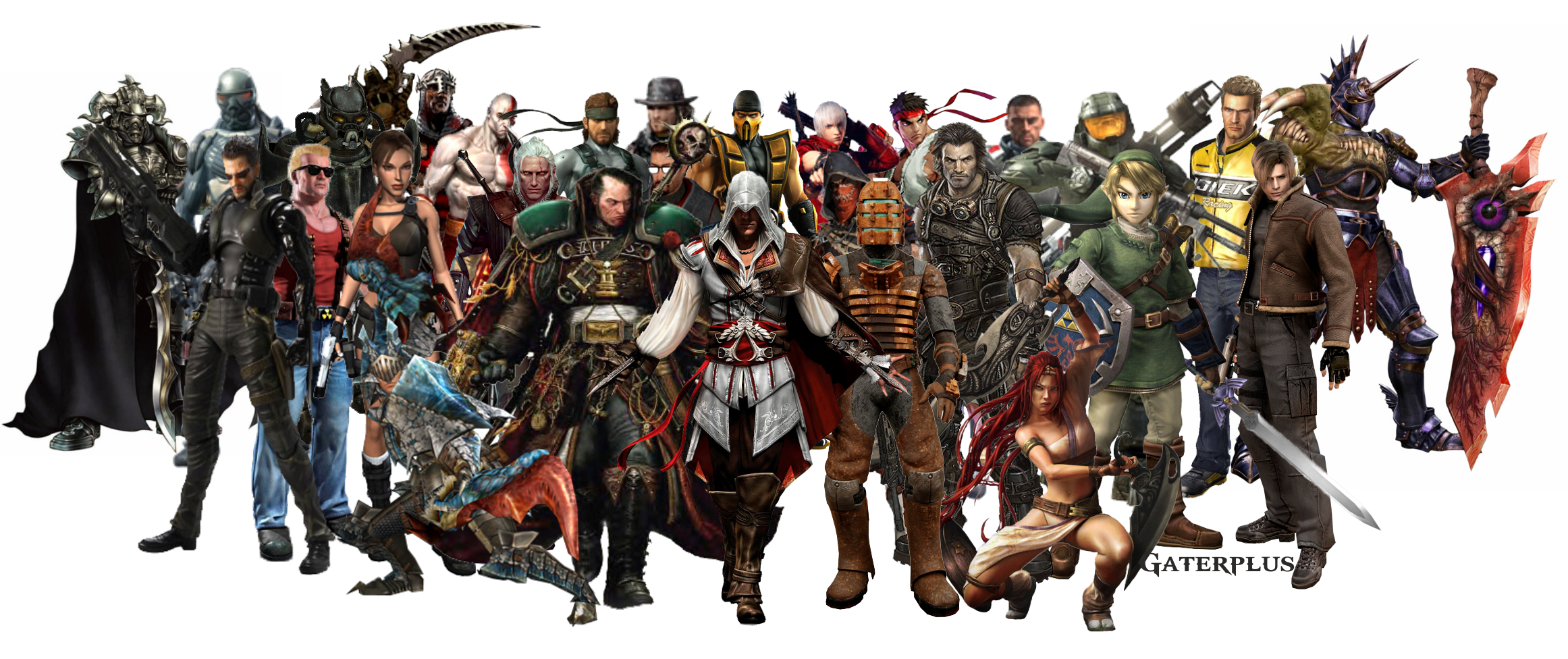 Video Game Characters Wallpaper - WallpaperSafari Video Game Characters