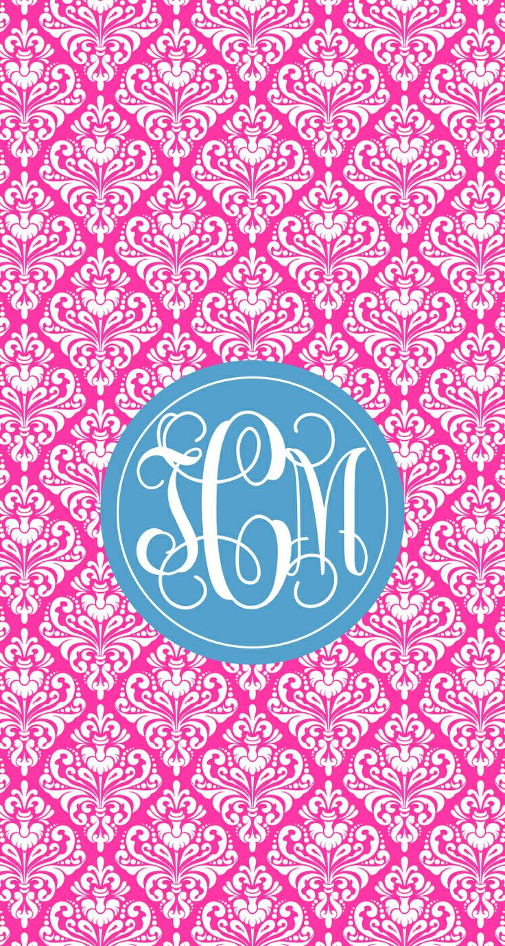 My monogram wallpaper Comment if you want me to make you one Colors 736x1377