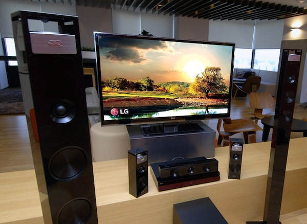 lg home theater system adds vertical speakers for 9 1 surround sound 600x438