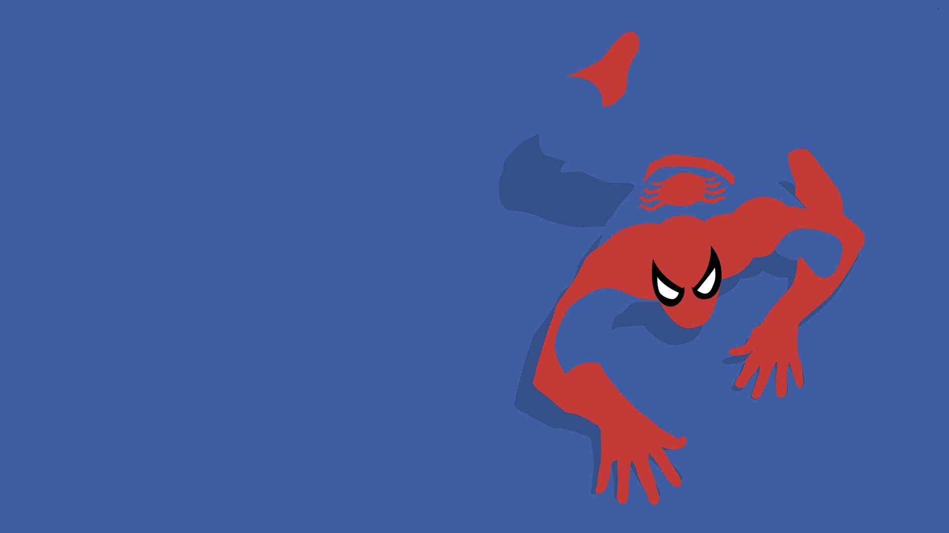 Wallpaper spider man spiderman marvel comics wallpapers minimalism 1680x1050