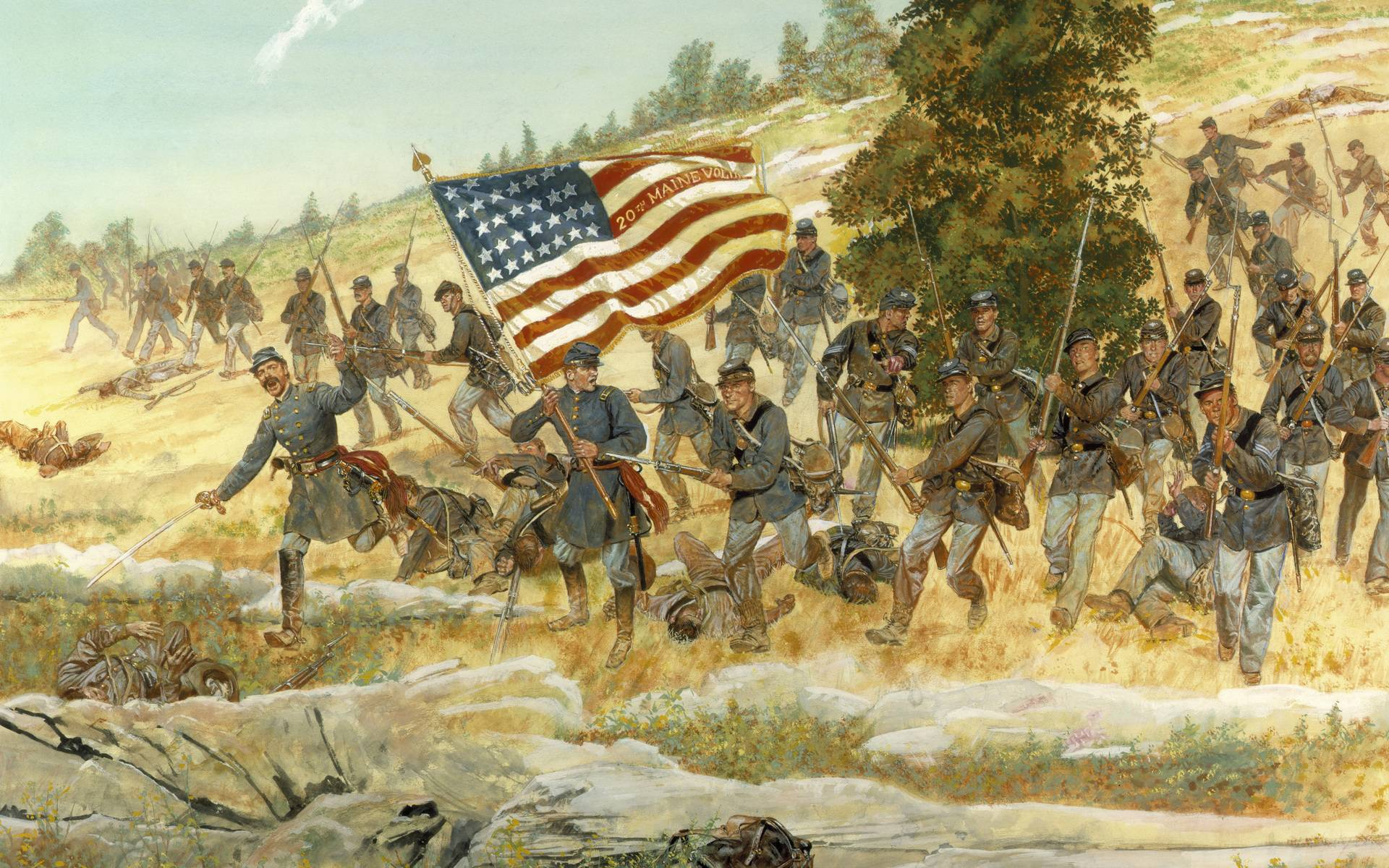 American Civil War Wallpapers 1920x1200