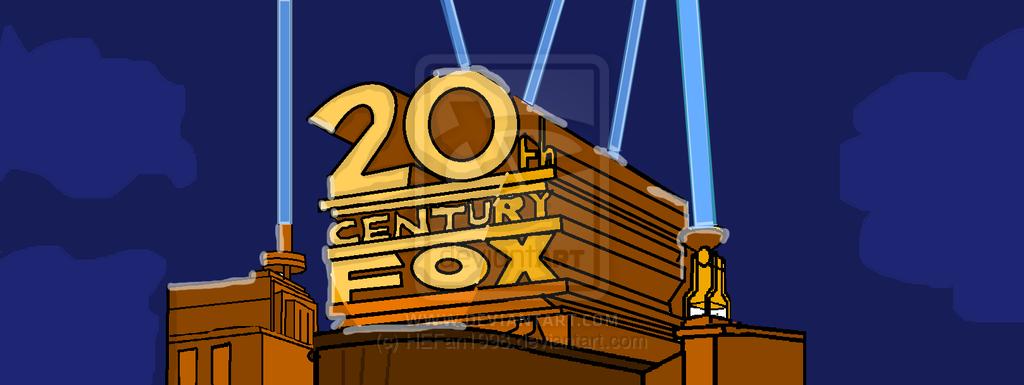 20th Century Fox logo DRAWN by HEFan1998 1024x385