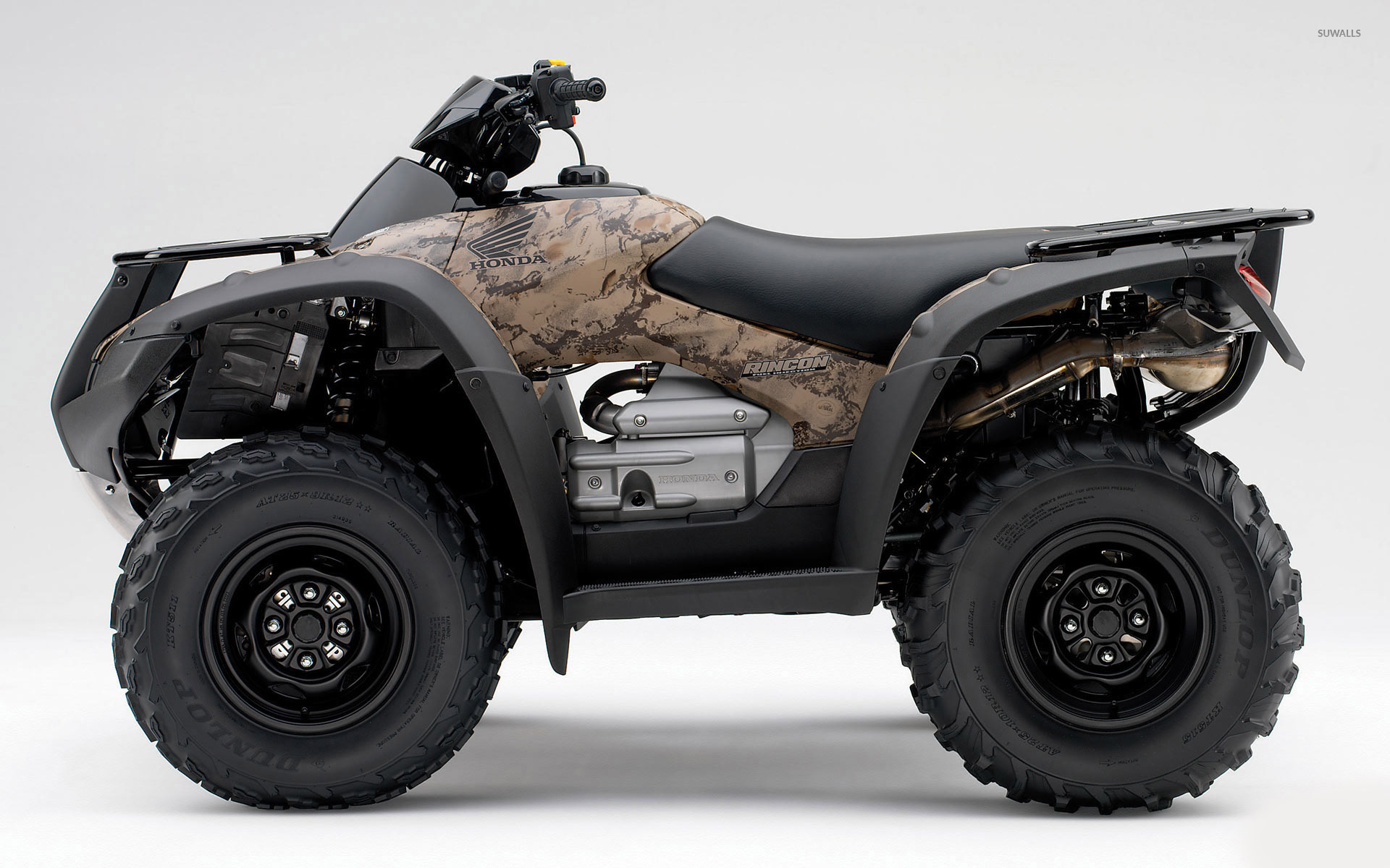 Camouflaged Honda ATV wallpaper   Motorcycle wallpapers   52945 1680x1050
