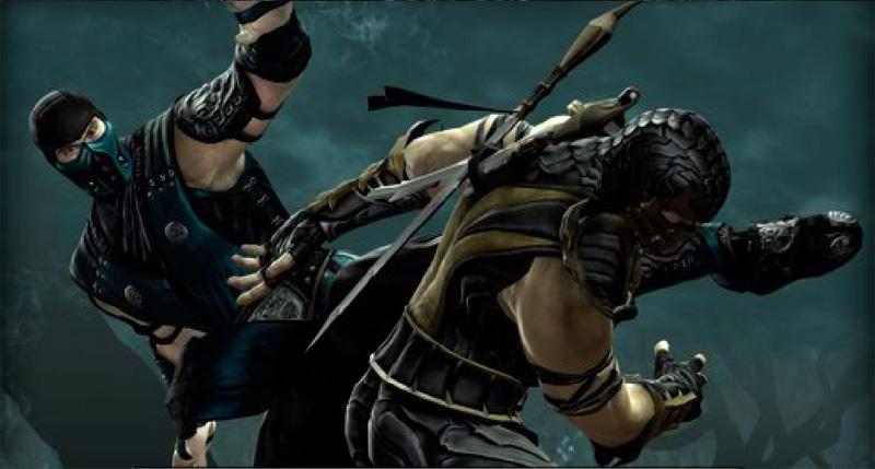 Free download Scorpion Vs Sub Zero Mortal Kombat Wallpaper