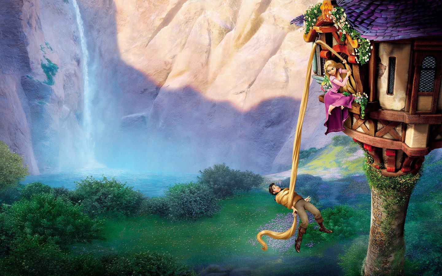 Princesas Disney Wallpapers Tangled Disney 1440x900