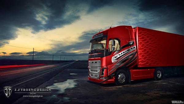 Volvo Truck Wallpaper Aoutos Hd Wallpapers