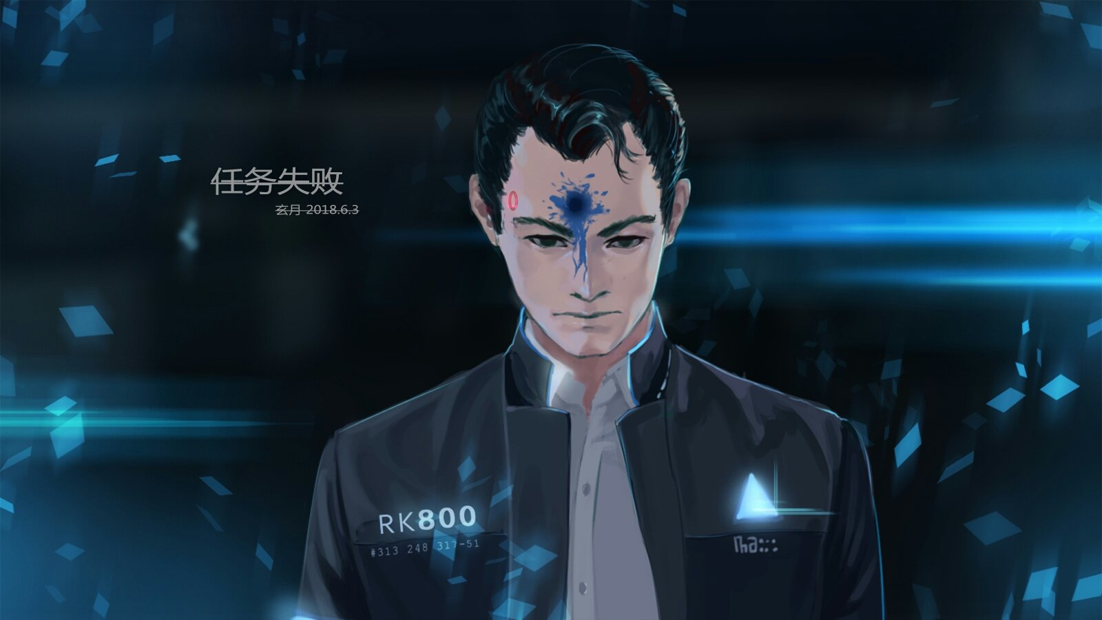 Free Download Connor Detroit Become Human Wallpaper 2335918