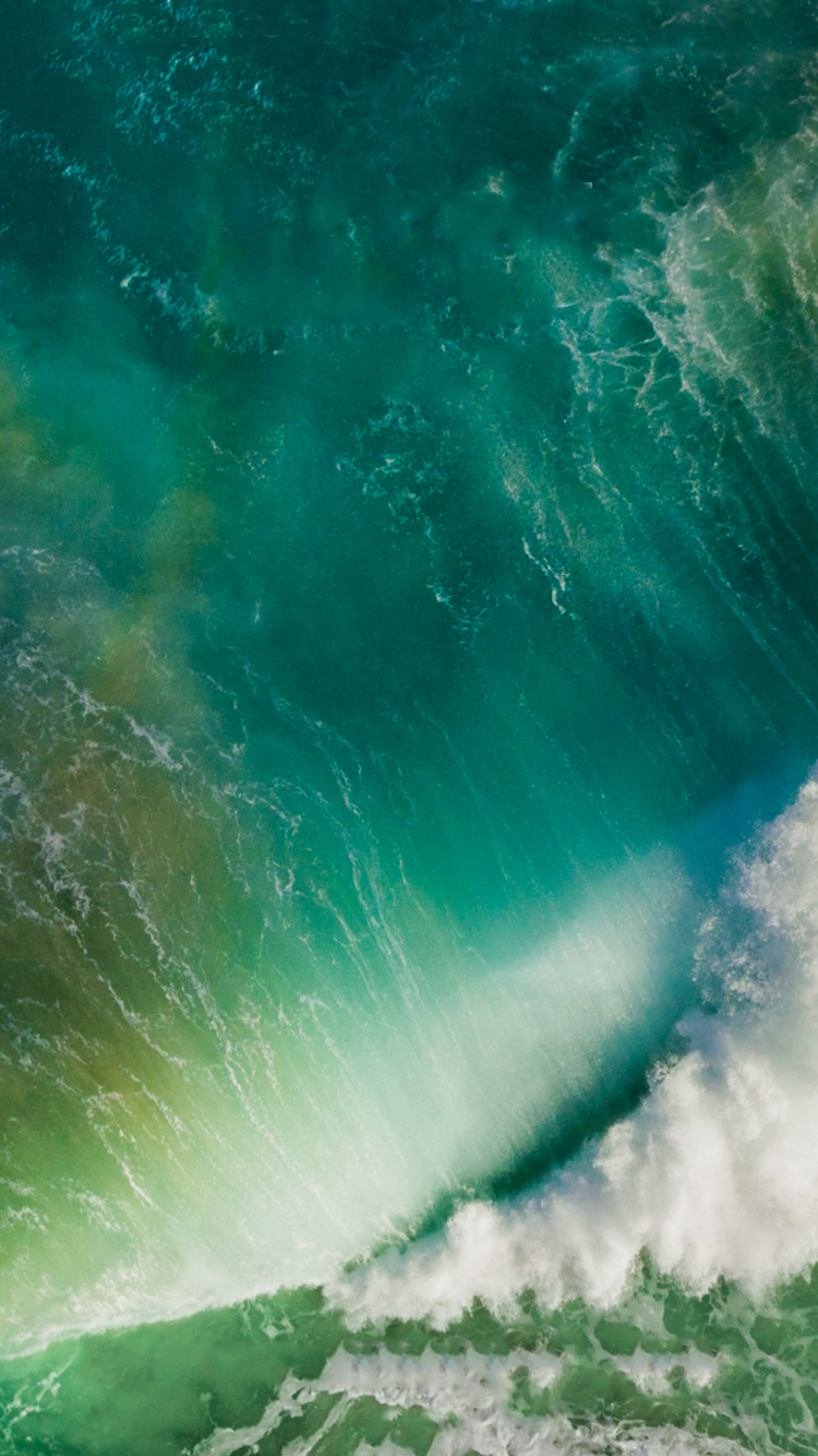 Download the new iOS 10 wallpapers for iPhone and iPad 750x1334