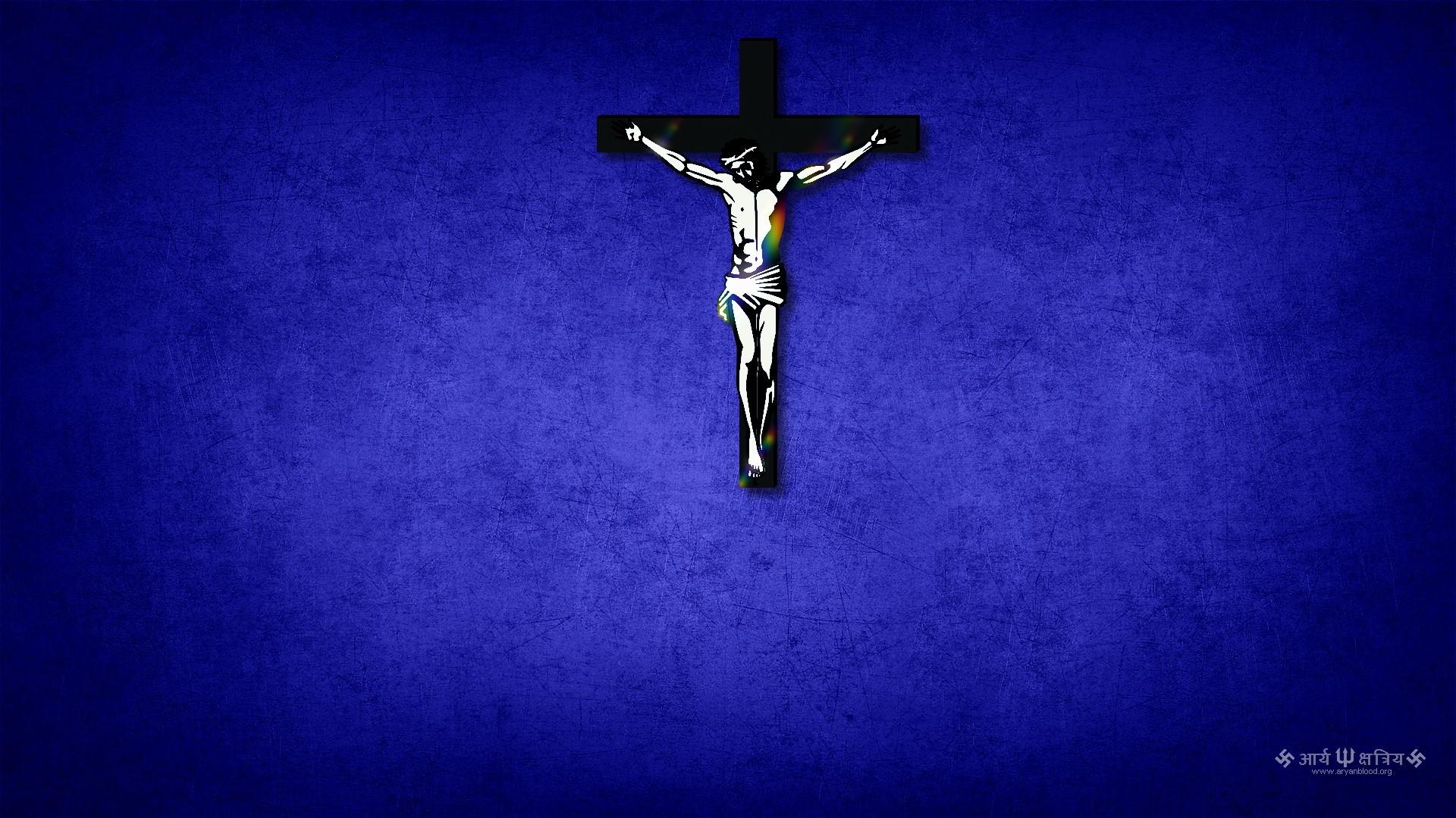 Jesus on the cross Wallpaper 316 1920x1080