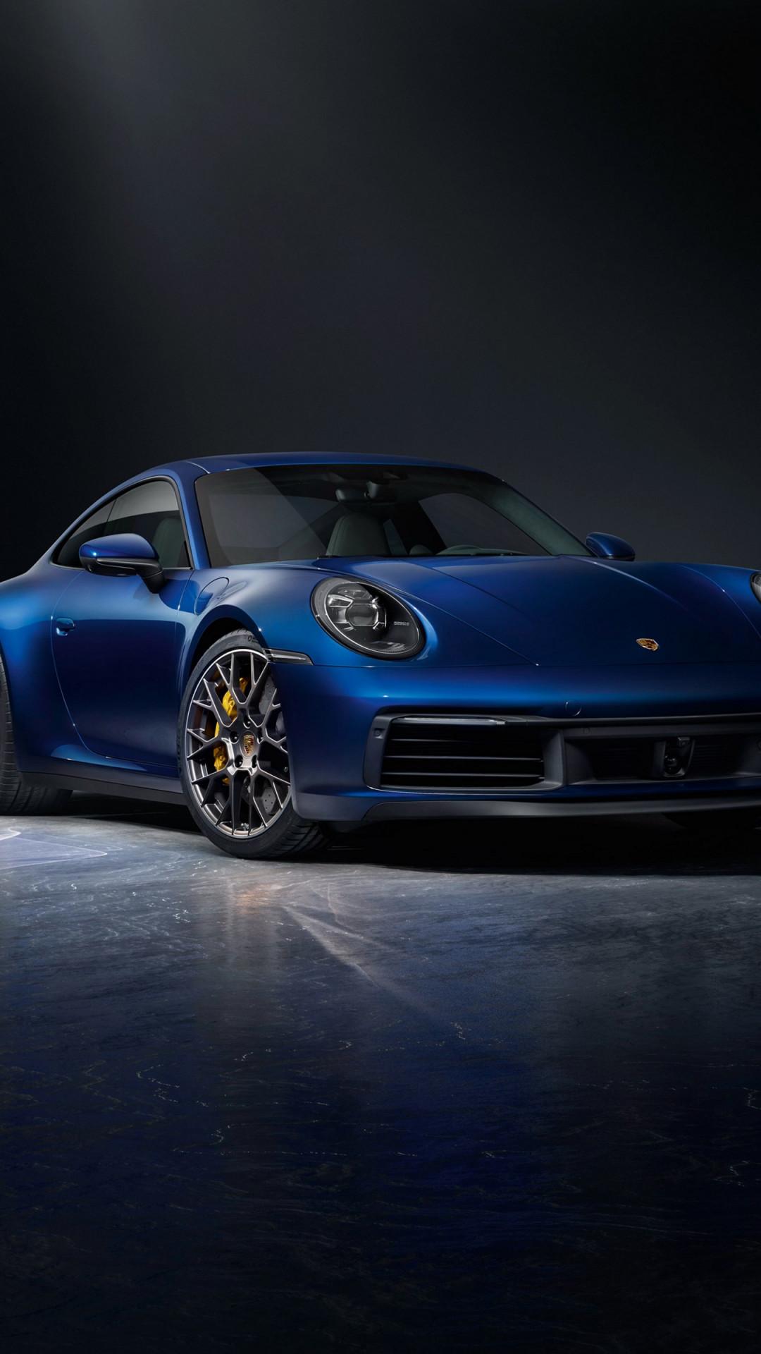 Download wallpaper Porsche 911 Carrera 2020 4S 1080x1920 1080x1920