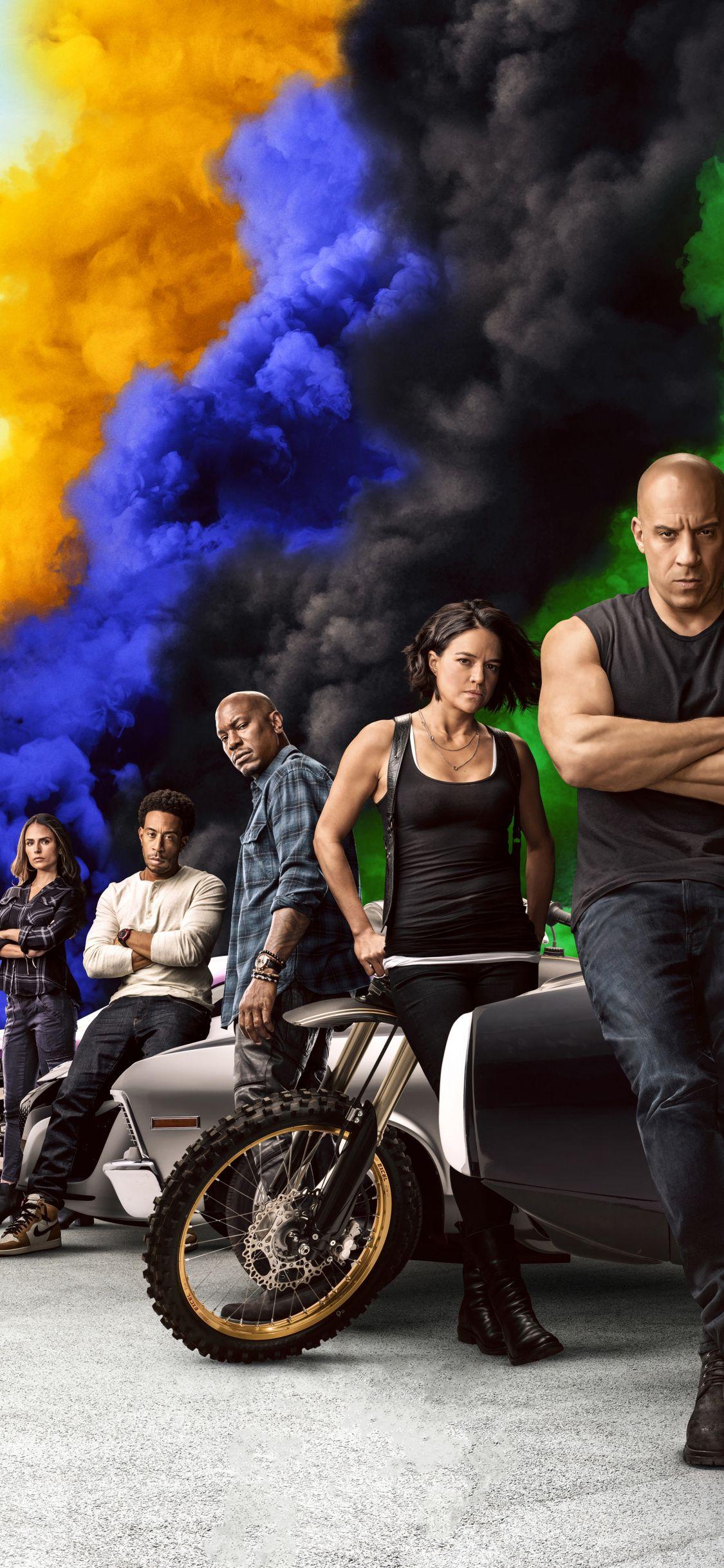 1125x2436 Movie 2020 cast Fast Furious 9 wallpaper in 2020 1125x2436