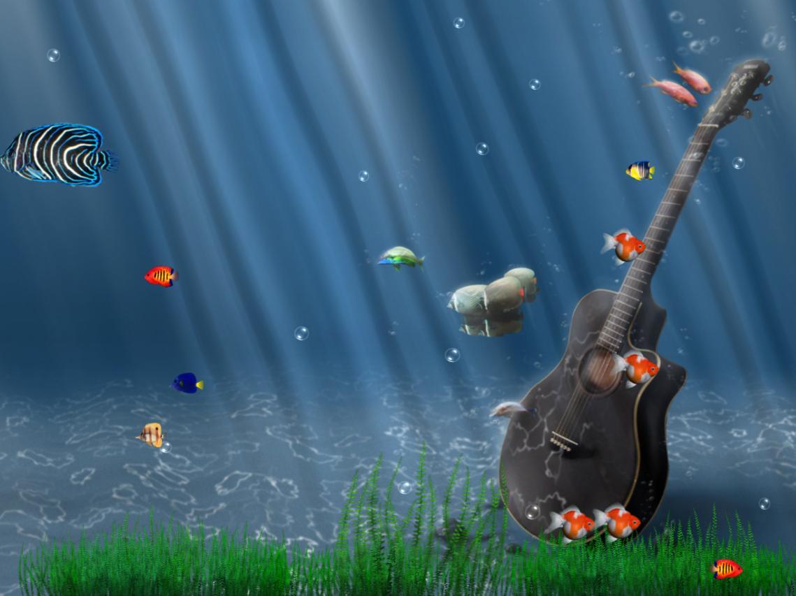 Ocean Adventure Aquarium Animated Wallpaper DesktopAnimatedcom 1139x853