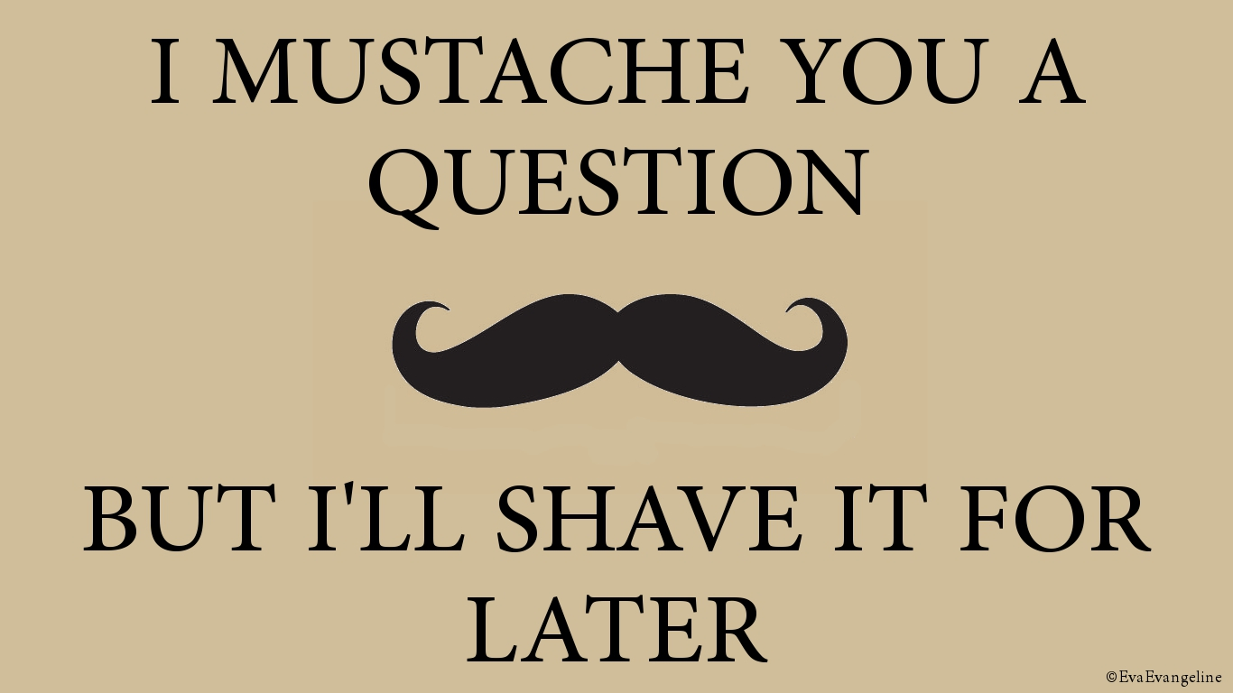 Mustache Backgrounds - WallpaperSafari