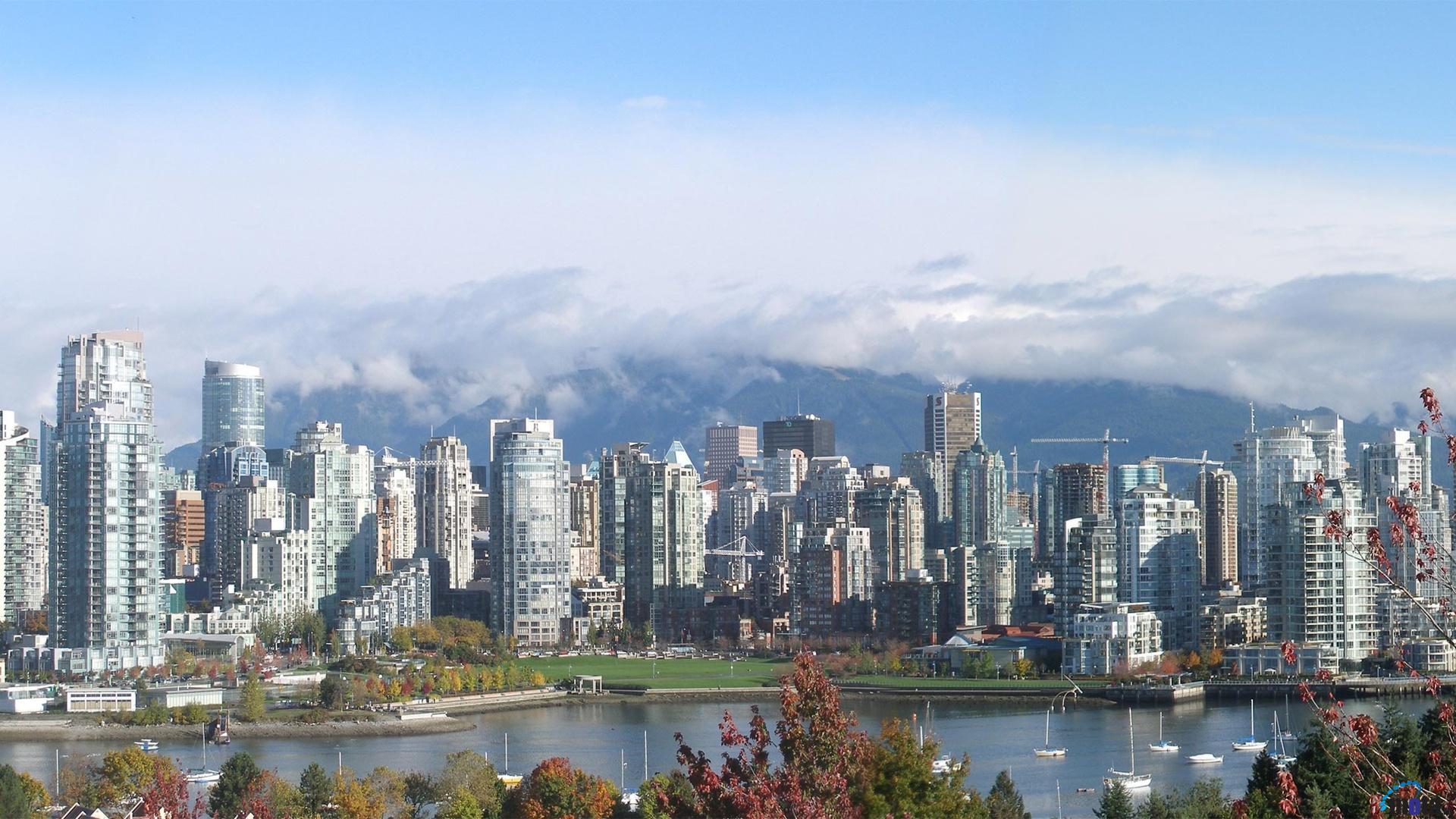 Wallpaper Vancouver landscape 1920 x 1080 HDTV 1080p Desktop 1920x1080
