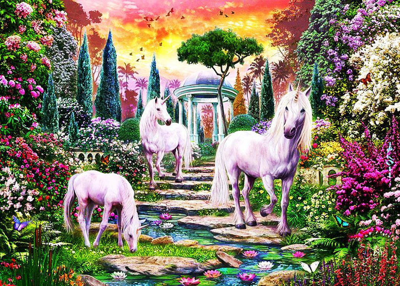 fairy garden white wallpaper - photo #32