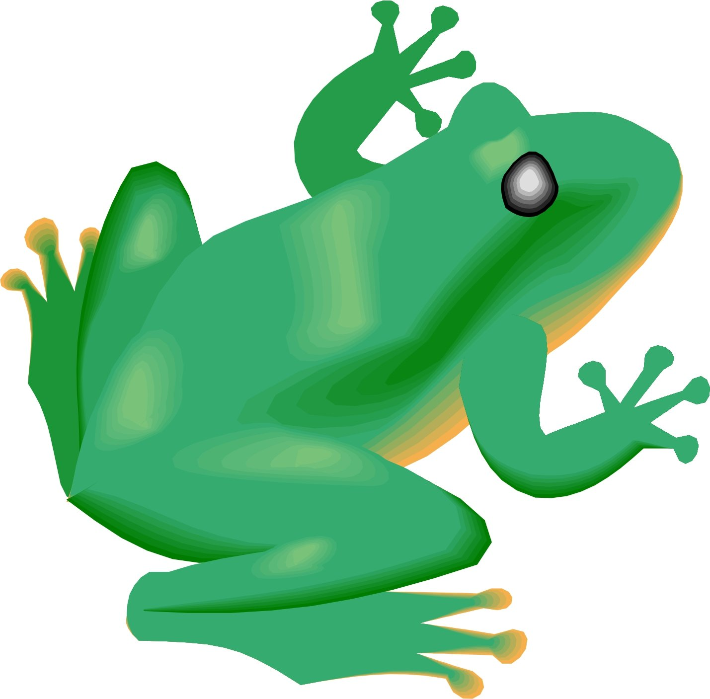 Cartoon frog - photo#47