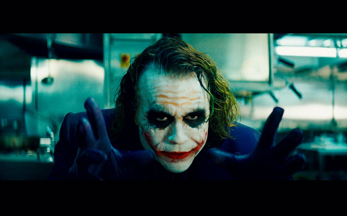 Heath Ledger Joker Face Why So Serious 1440x900