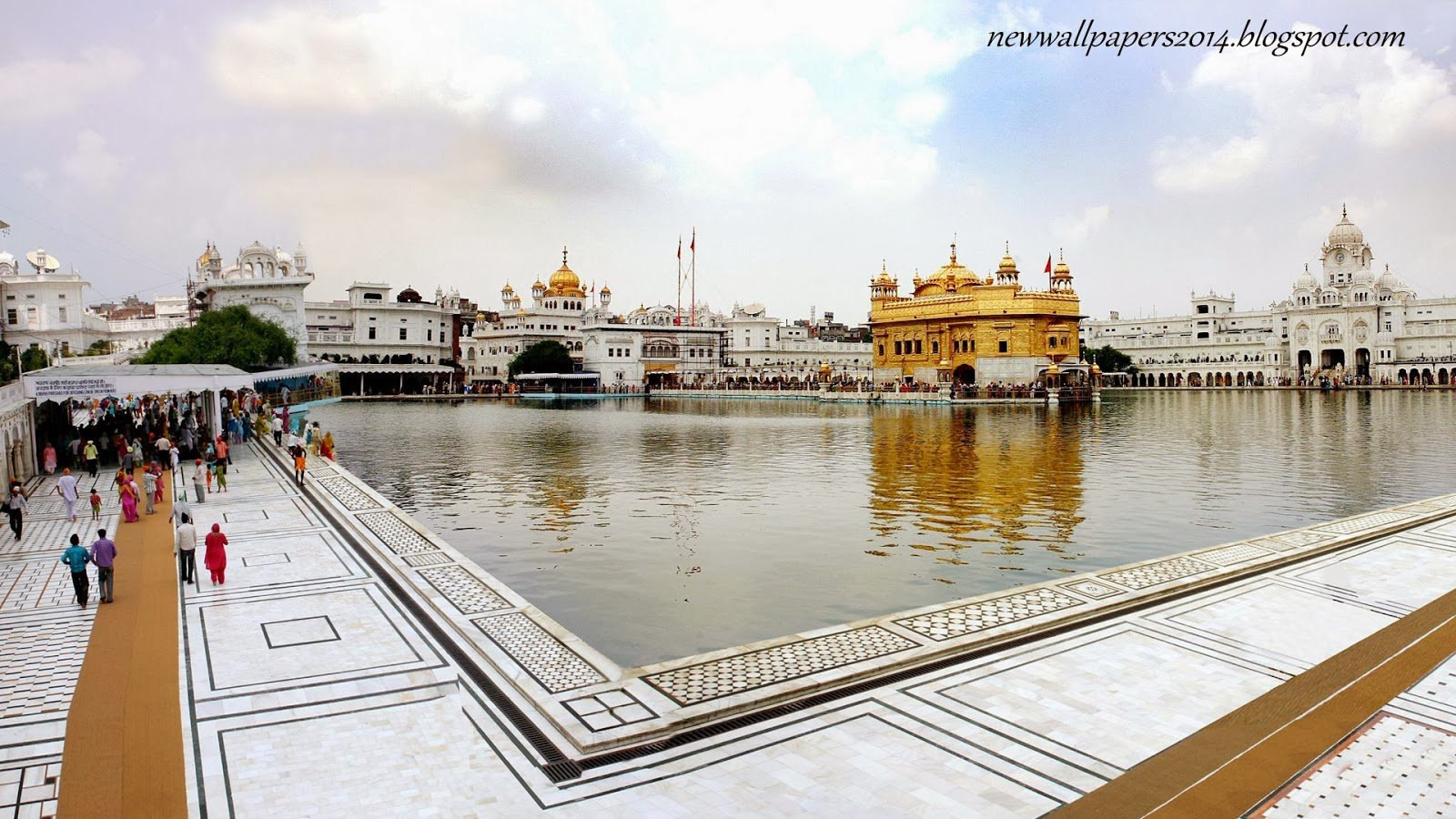 1600x900px golden temple hd wallpaper - wallpapersafari