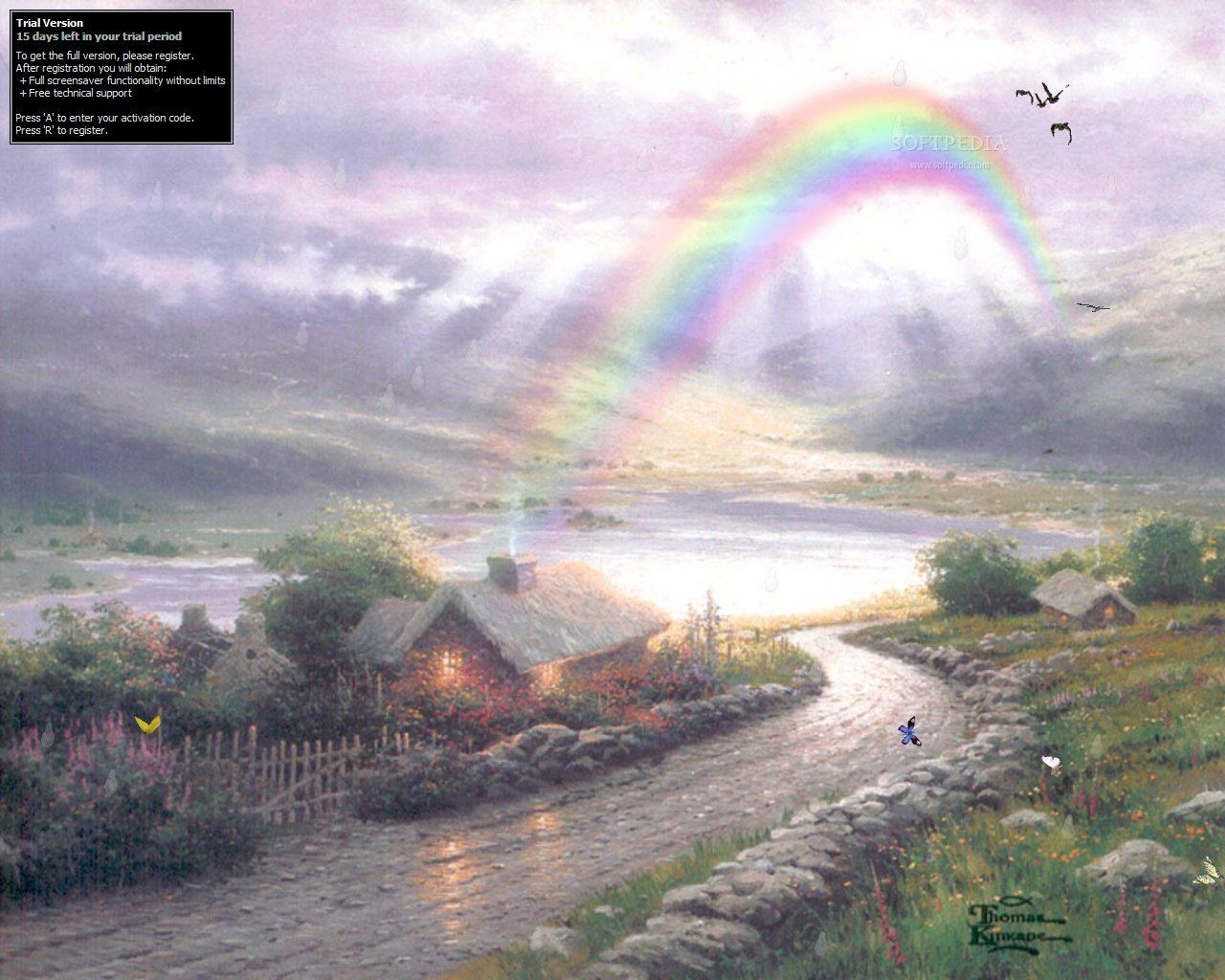 Irish Morn Screensaver   The Irish Morn Screensaver will display a 1280x1024