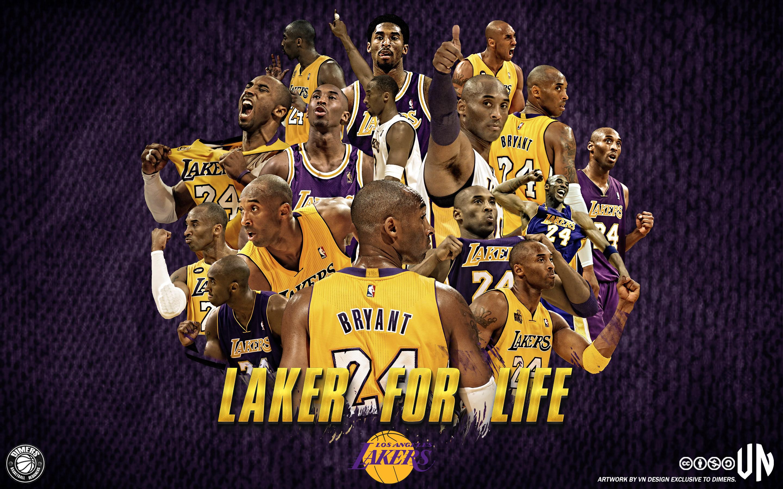 Kobe Bryant LA Lakers 1996 2015 Wallpaper Basketball Wallpapers at 2880x1800