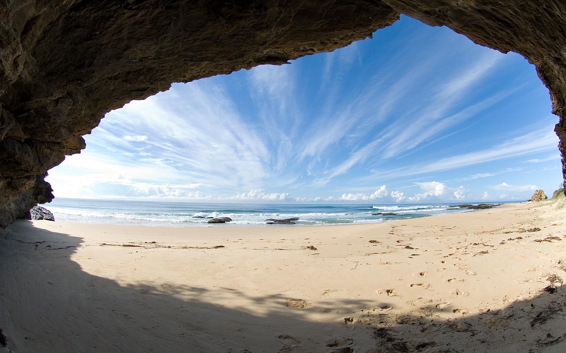 Image Ocean Beach Desktop Download 1920x1200