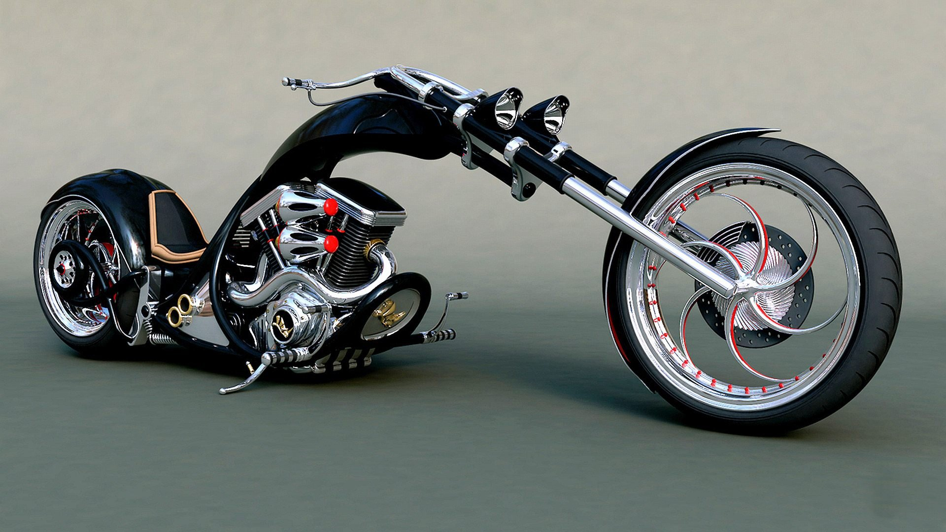 tuning motorbike motorcycle hot rod rods custom wallpaper background 1920x1080