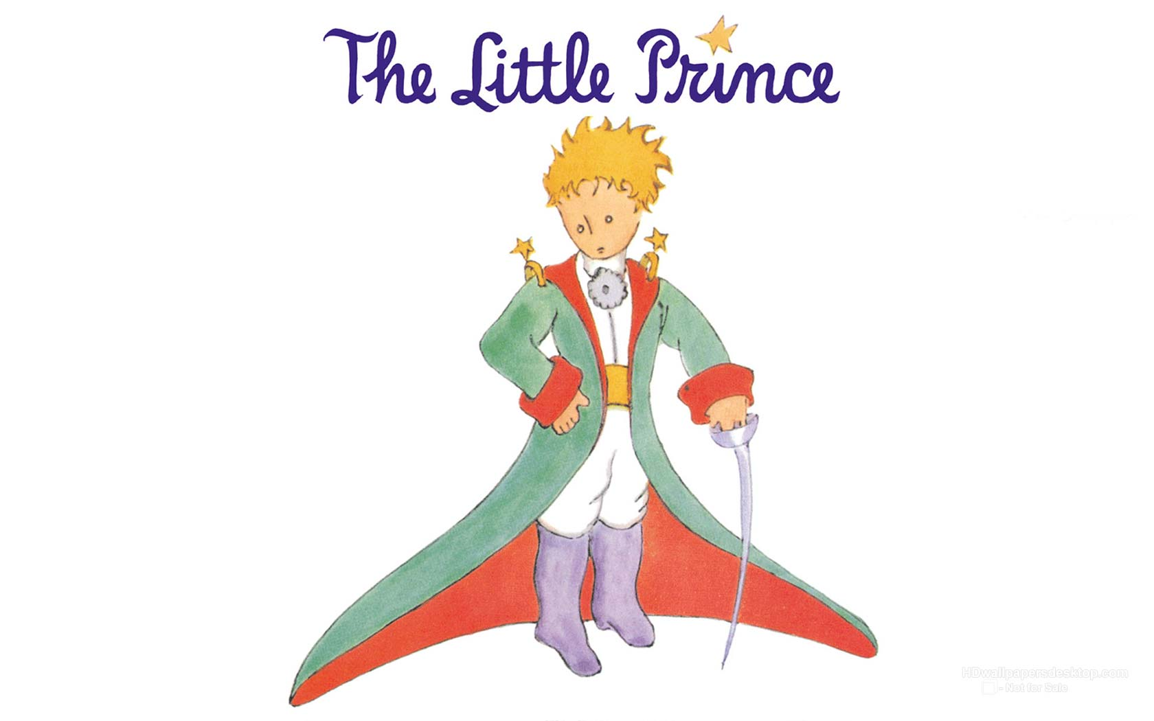 The Little Prince: [48+] The Little Prince Wallpaper On WallpaperSafari