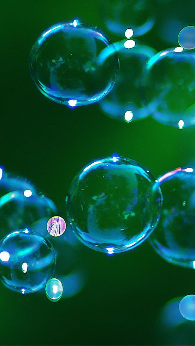 Iphone bubble wallpapers