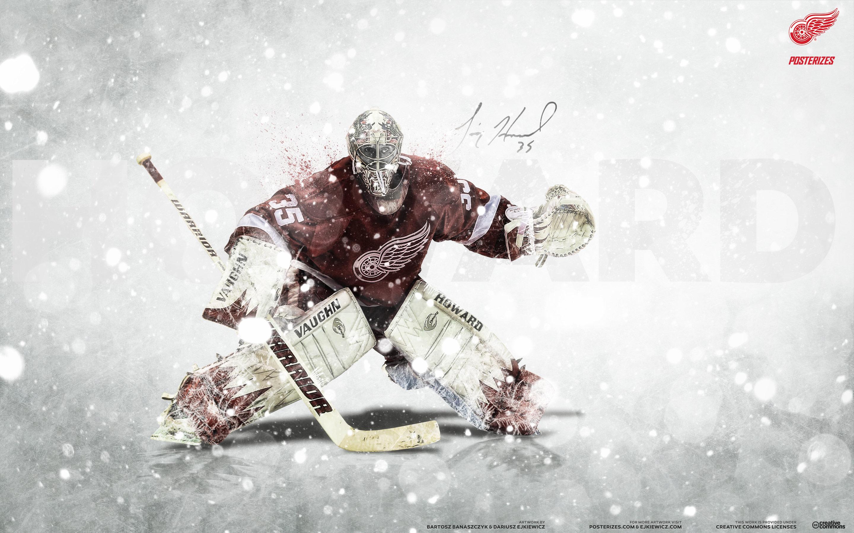 NHL Wallpapers   Jimmy Howard Detroit Red Wings 2014 wallpaper 2880x1800