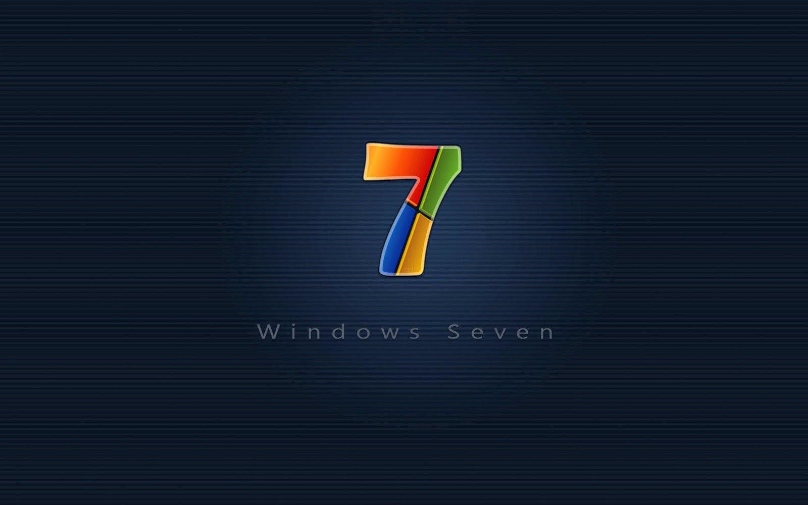 Logo Logo Wallpaper Collection Windows seven 7 logo wallpaper part 1600x1000