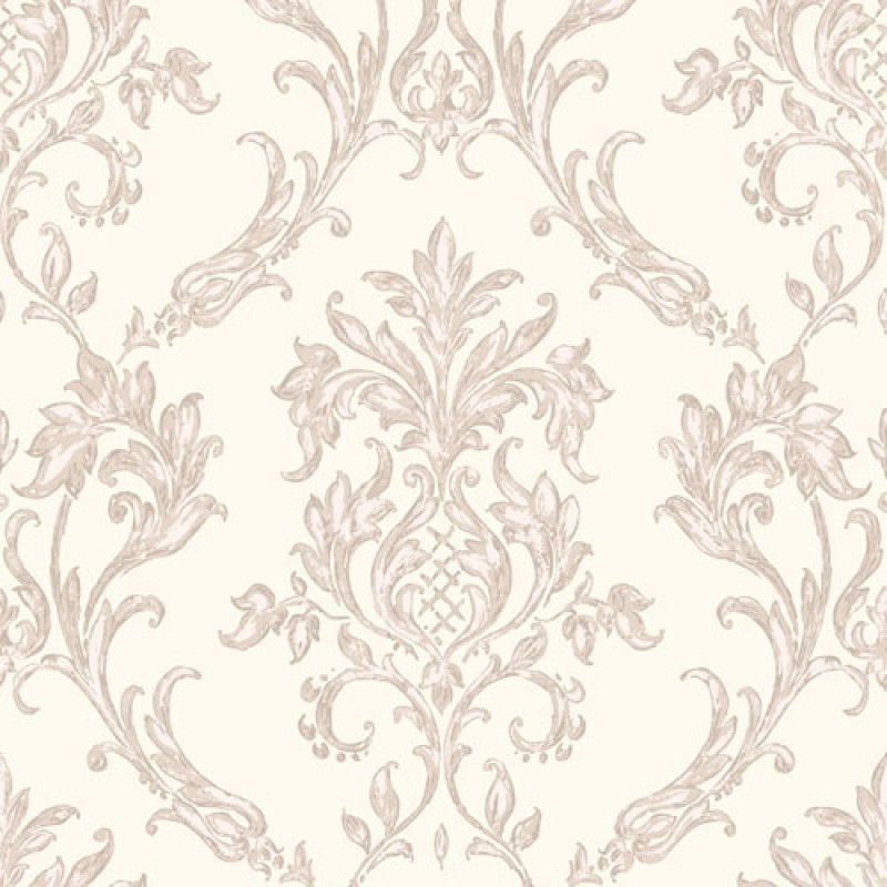 Home Rafaele Damask Moonstone Beige Wallpaper by Vymura M0730 800x800