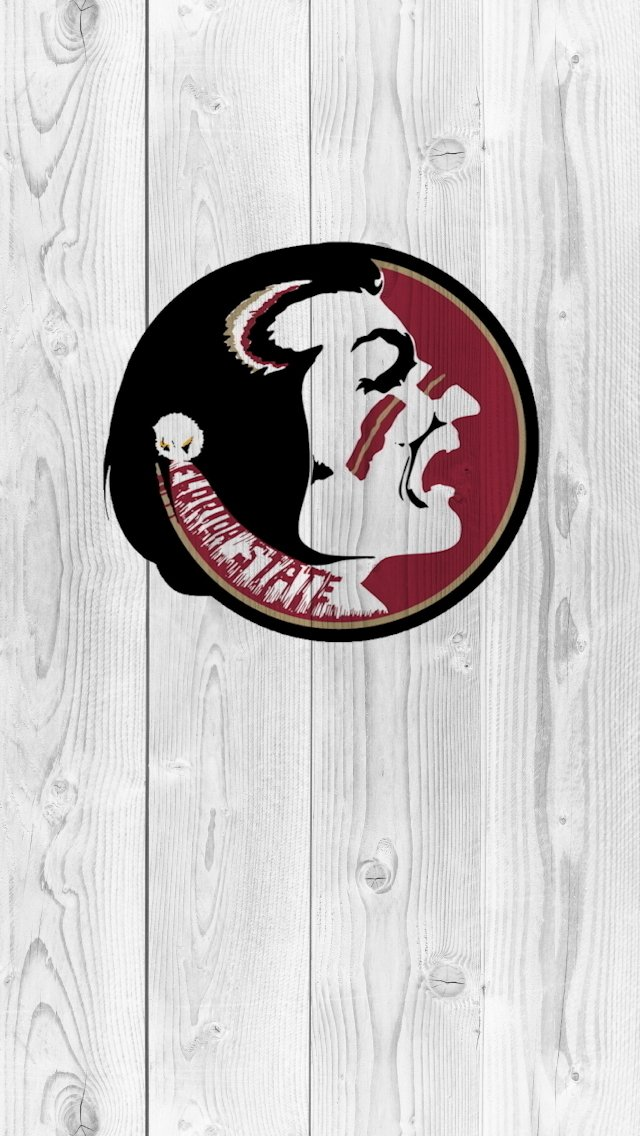 Florida State University Seal Wallpaper Florida state logo iphone 640x1136