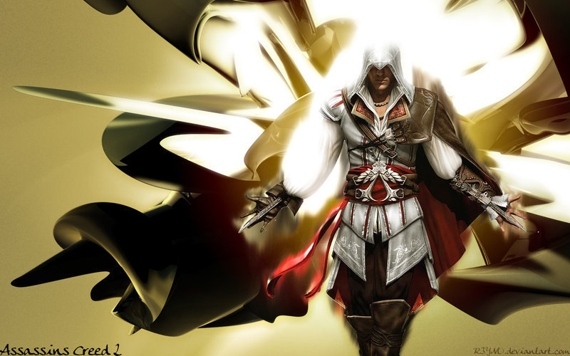 Free Download Assassins Creed 2 Awesome Ezio Wallpaper