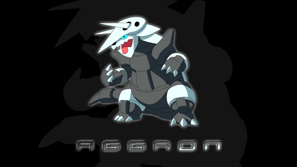 Aggron Wallpaper by gavinnation75 1024x576