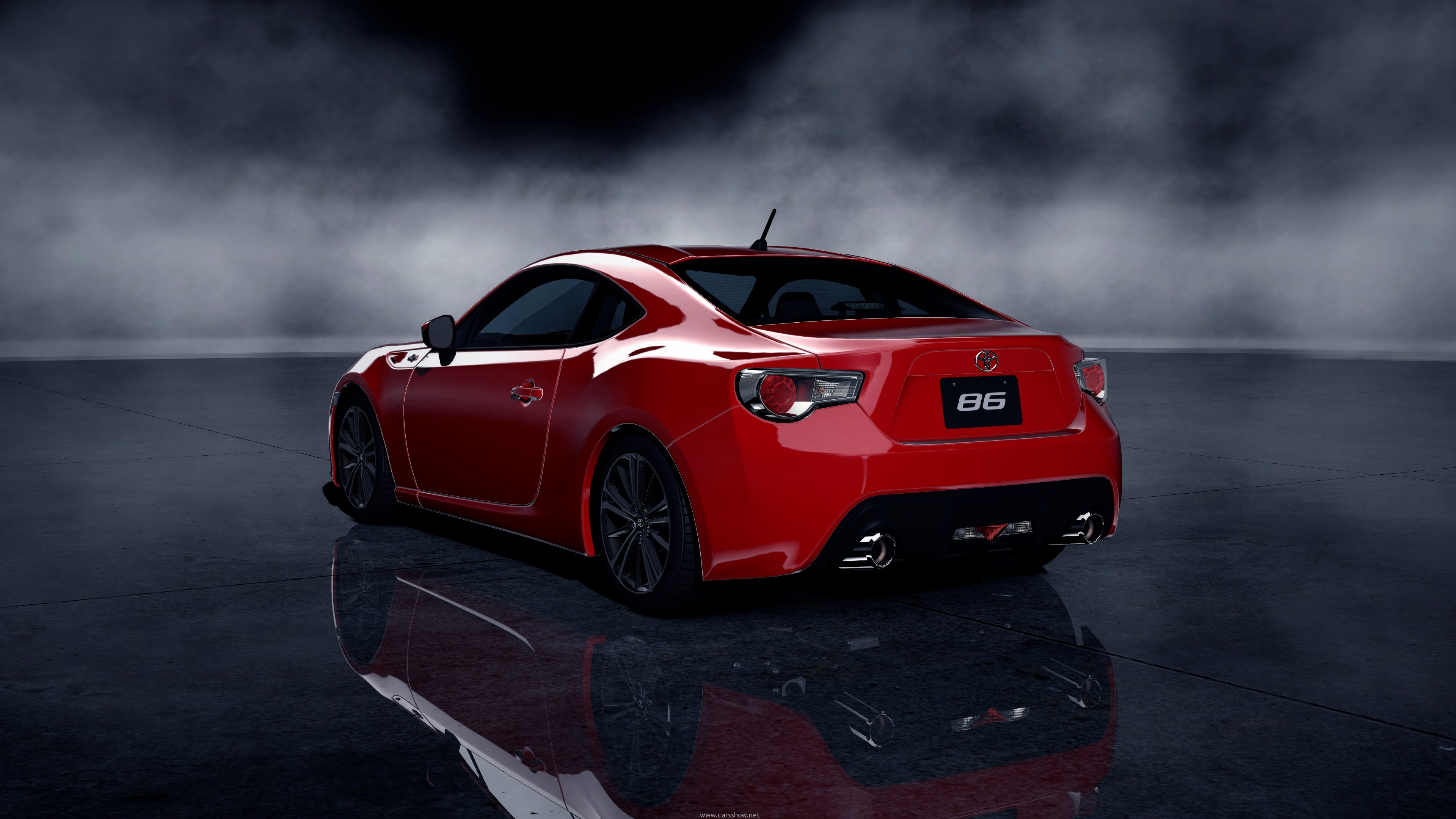 Toyota GT 86 Red wallpaper 3840x2160 17978 3840x2160
