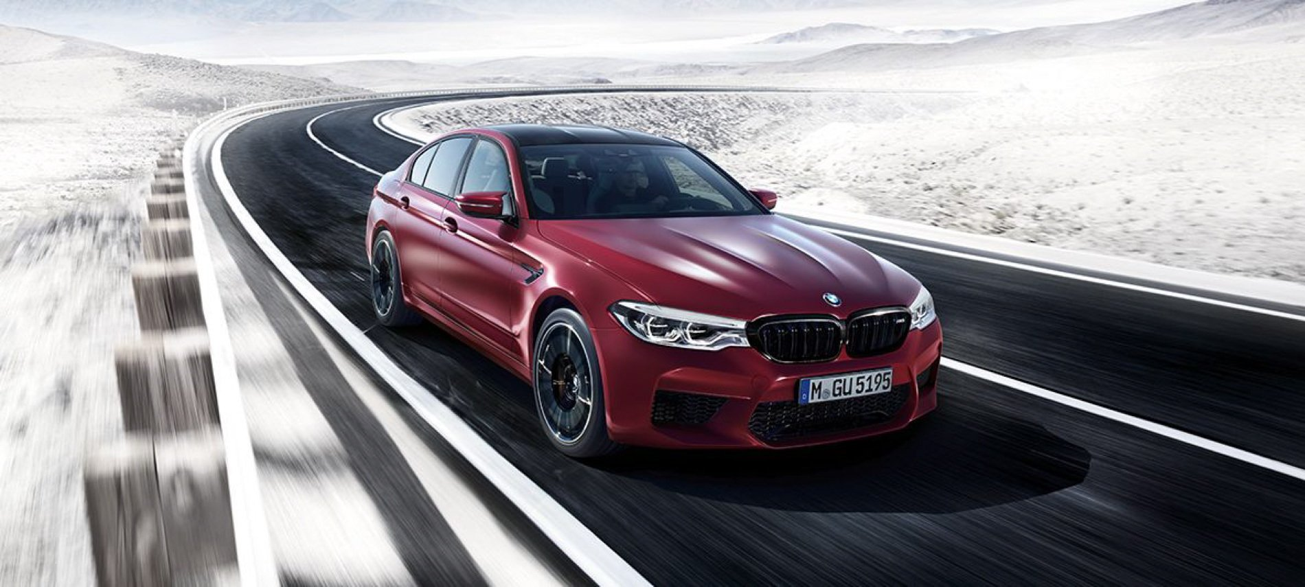 Download wallpapers of the new 2018 BMW F90 M5 1900x855