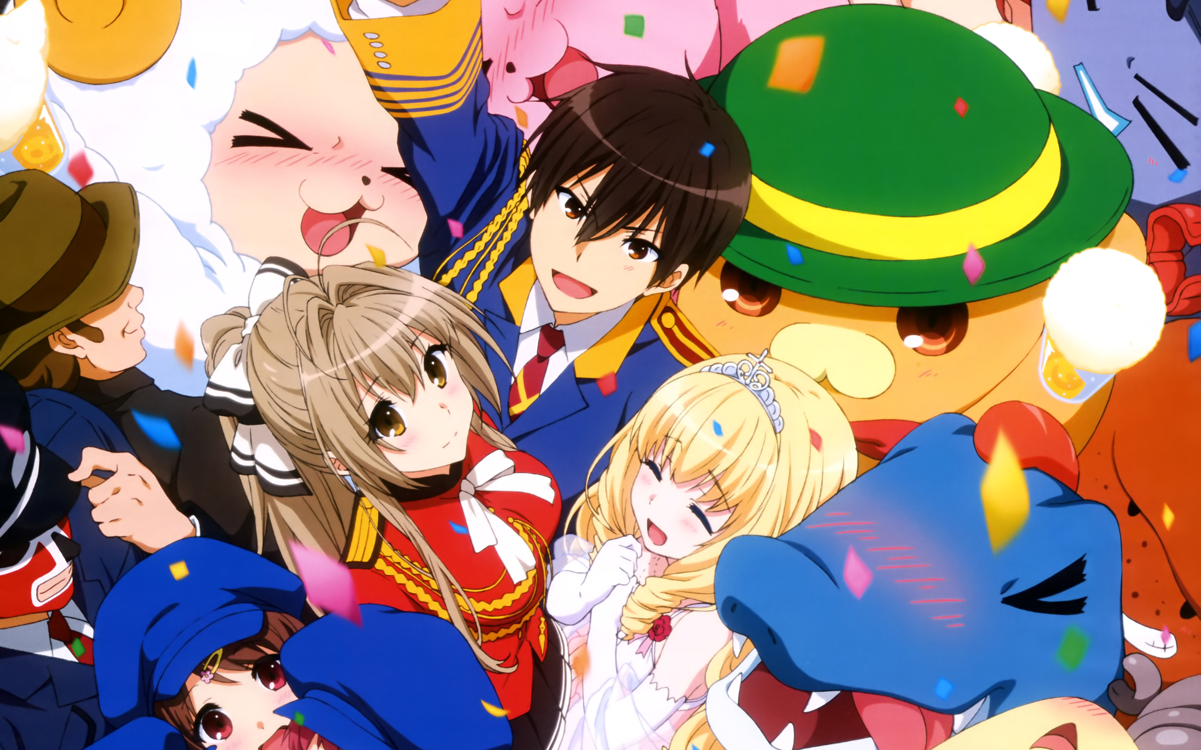 42 Amagi Brilliant Park HD Wallpapers Background Images 4085x2553