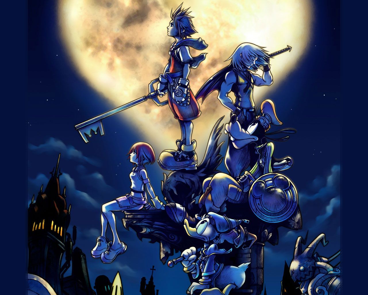 Kingdom Hearts Backgrounds 1366x768 wallpaper Kingdom Hearts 1280x1024