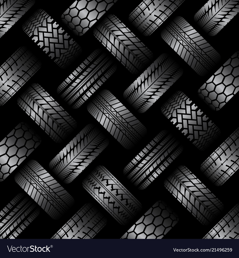 Cars tire tracks background Royalty Vector Image 1000x1080