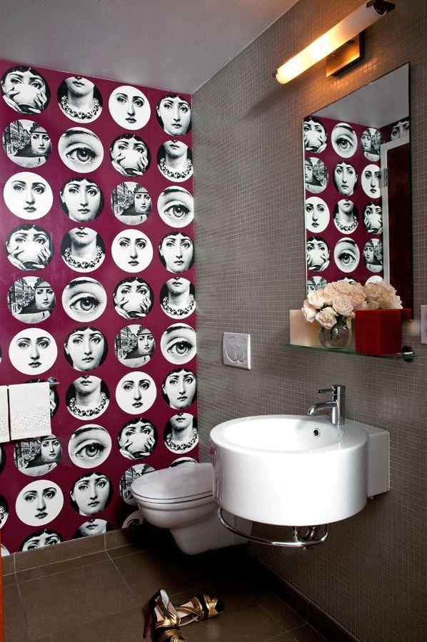 Fornasetti Wallpaper Wallpaper Pinterest 598x900