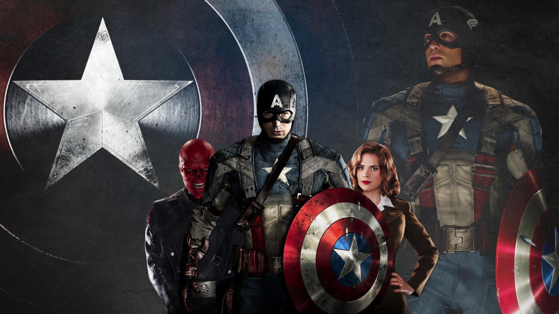 Free Download Captain America Wallpaper 1920x1080 1 Hebusorg High