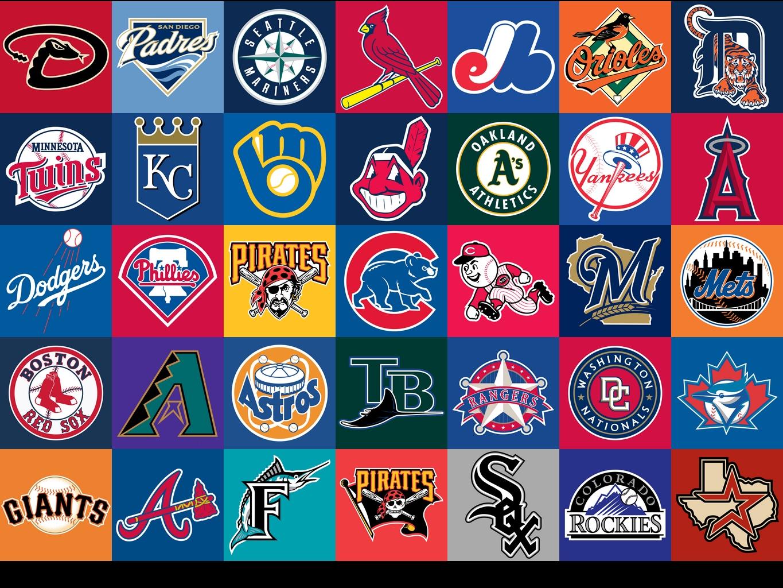 MLB Logo Collection 1365x1024