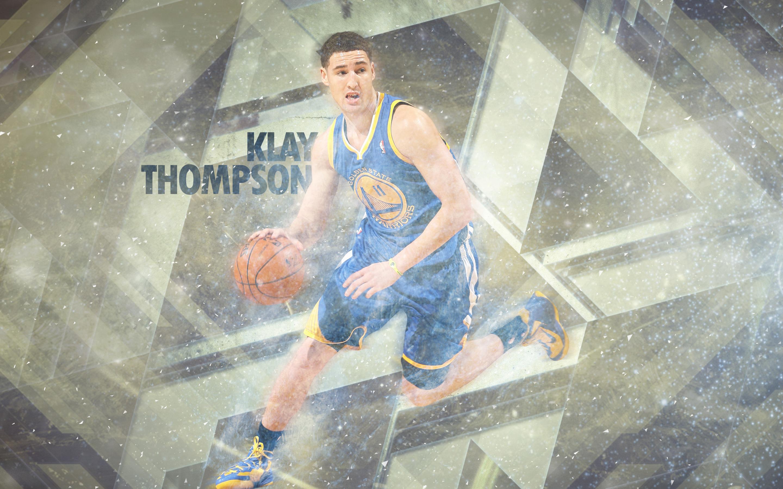 Klay Thompson Warriors 2014 Wallpaper 2880x1800