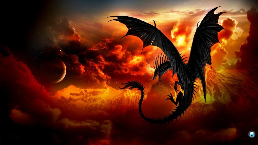 attractive high resolution dragon wallpaper dragon fantasy 1024x576